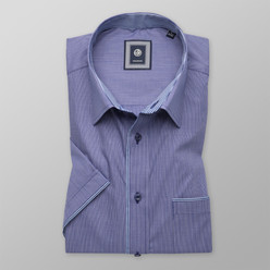 Classic shirt in dark blue (height 176-182) 10509
