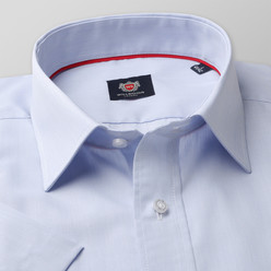London shirt in white with striped pattern (height 176-182) 10512, Willsoor