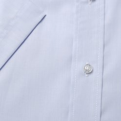 London shirt in white with striped pattern (height 176-182) 10513, Willsoor
