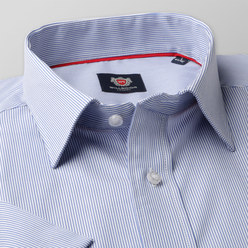 London shirt with pale blue striped pattern (height 176-182) 10525, Willsoor