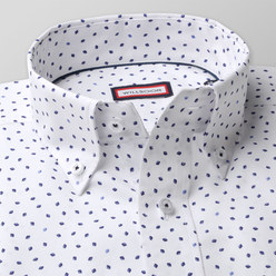 Slim Fit shirt with drops (height 176-182) 10528