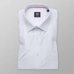 London shirt in white with check pattern (height 176-182) 10562