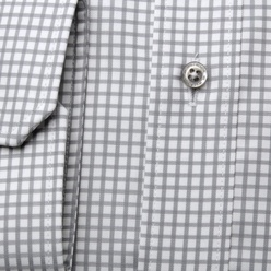 London shirt with grey check pattern  (height 176-182) 10581