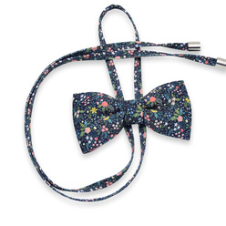 Women's bow tie with colofulr floral pattern 10600, Willsoor