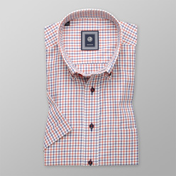 Slim Fit shirt with checked pattern (height 176-182) 10701
