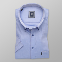 Classic shirt in light blue color (height 176-182) 10703