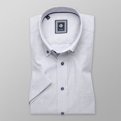 Slim Fit shirt with fine checkered pattern (height 176-182) 10717