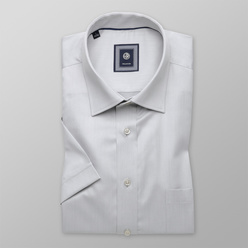 Classic shirt in grey color (height 176-182) 10720
