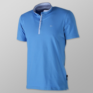 Men's polo t-shirt in blue color 10748