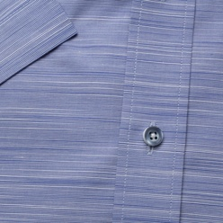 Classic shirt in light blue with stripes (height 176-182) 10763
