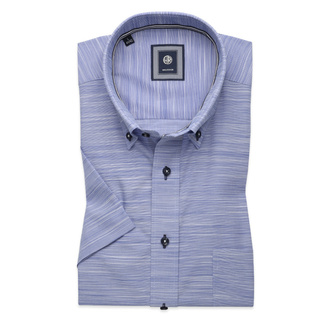 Classic shirt in light blue with stripes (height 176-182) 10765, Willsoor