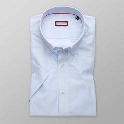 Men's slim fit shirt with fine pattern (height 176-182) 10814