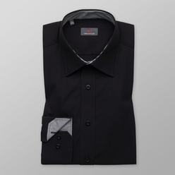 Slim Fit shirt in black color (height 176-182) 10825