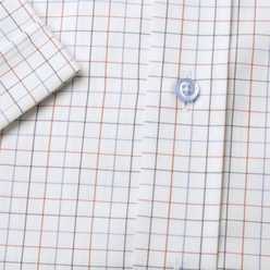 Classic shirt with fine check pattern (height 176-182) 10833, Willsoor