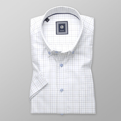 Slim Fit shirt with fine check pattern  (height 176-182) 10834