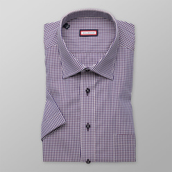 Slim Fit shirt with check pattern (height 176-182) 10840, Willsoor