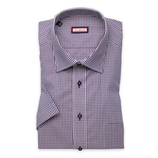 Classic shirt with check pattern (height 176-182) 10841, Willsoor