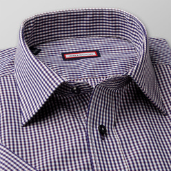 Classic shirt with check pattern (height 176-182) 10841