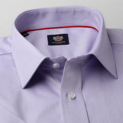 London shirt in light purple color (height 176-182) 10850, Willsoor