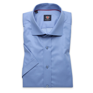 London shirt in blue color (height 176-182) 10852, Willsoor
