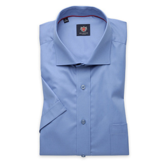 London shirt in blue color (height 176-182) 10853, Willsoor
