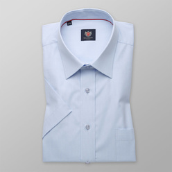 London shirt in light blue with fine pattern (height 176-182) 10855, Willsoor