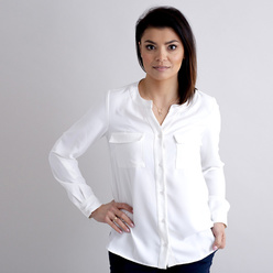 Women's blouse in canvas color 10890, Willsoor