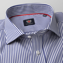 London shirt with blue-white striped pattern (height 176-182 and 188-194) 10895, Willsoor