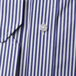 London shirt with blue-white striped pattern (height 176-182 and 188-194) 10896, Willsoor