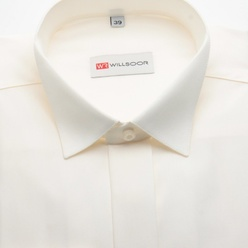 Classic shirt in canvas color (all sizes) 10900, Willsoor