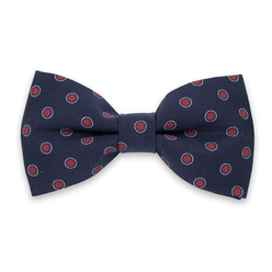 Men's pre-tied bow tie with red dots 10964, Willsoor