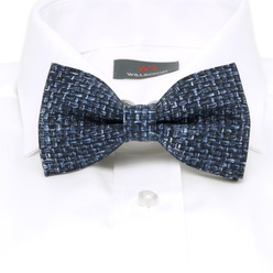 Men's pre-tied bow tie with blue pattern 10965, Willsoor