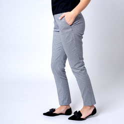Suit trousers with houndstooth pattern 10972, Willsoor