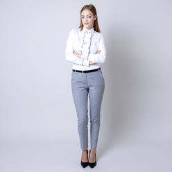 Suit trousers with check pattern 10973, Willsoor