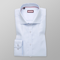 Extra Slim Fit shirt in pale blue (height 176-182) 11012, Willsoor