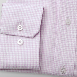Slim Fit shirt pink pattern (height 176-182 and 188-194) 11014, Willsoor