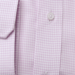 Classic shirt with pink pattern (height 176-182 and 188-194) 11015, Willsoor