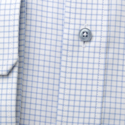 Classic shirt with light blue pattern (height 176-182) 11023, Willsoor