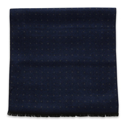 Scarf with grey dotted pattern 11047, Willsoor