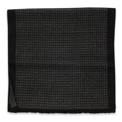Scarf with black check pattern 11050, Willsoor
