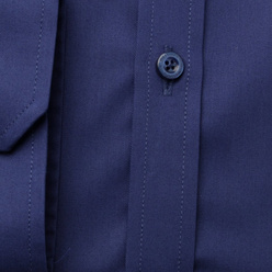 Extra Slim Fit shirt in blue (height 176-182) 11063