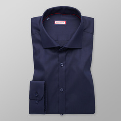 Extra Slim Fit shirt in dark blue (height 176-182) 11064