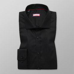 Extra Slim Fit shirt in black (height 176-182) 11065