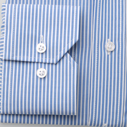 London shirt with fine striped pattern (height 188-194) 11101, Willsoor