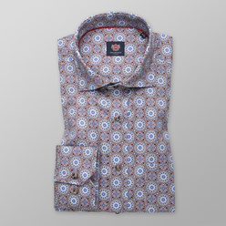 Men's classic shirt with oriental pattern 11175, Willsoor