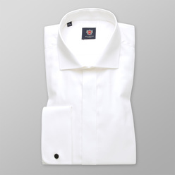 Men's Slim Fit shirt in creamy color 11289