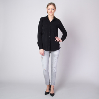 Women's shirt with silver threads pattern 11349, Willsoor