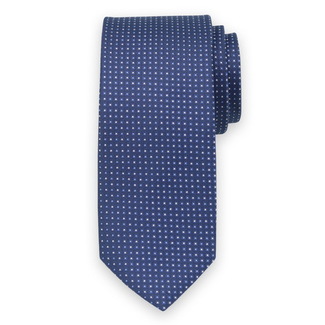 Classic tie with fine geometric pattern 11549, Willsoor