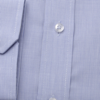 Men's Slim Fit shirt in light blue color with fine pattern 11583, Willsoor