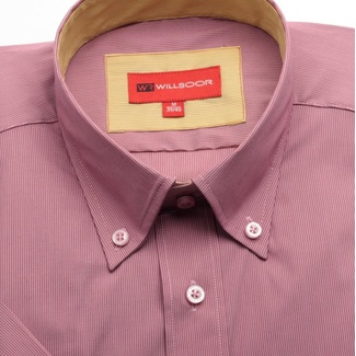 Men shirt WR Slim Fit with short sleeve (height 176/182) 1160